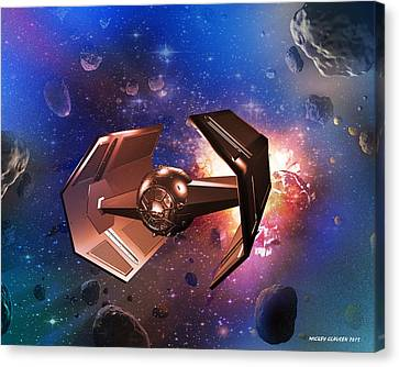 Tie-fighter Canvas Print