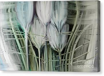 Tied Hands Canvas Print by Fatima Stamato
