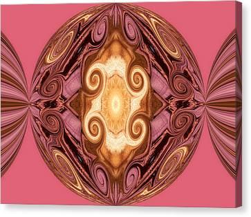Tiffany Twisted Canvas Print