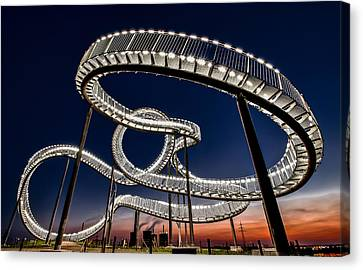 Roller Coaster Canvas Print - Tiger And Turtle At Dawn by Holger Schmidtke