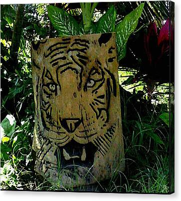 Tiger Canvas Print by Calixto Gonzalez