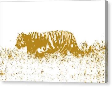 Growl Canvas Print - Tiger by Joe Hamilton