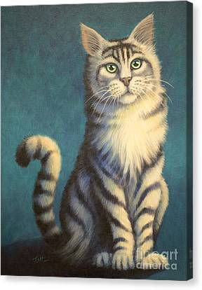 Tiger Kitty Canvas Print