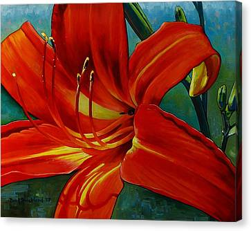 Tiger Lily Canvas Print by Doug Strickland