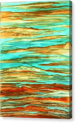 Tiger Sky Canvas Print