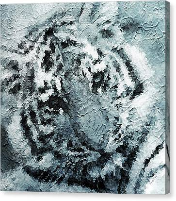 Tiger Canvas Print by Stacey Chiew