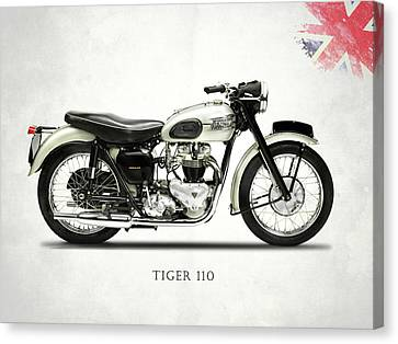 Tiger T110 1957 Canvas Print by Mark Rogan