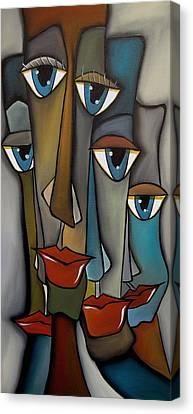 Tight Knit By Fidostudio Canvas Print by Tom Fedro - Fidostudio