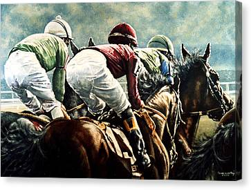 Tight Quarters Canvas Print by Thomas Allen Pauly