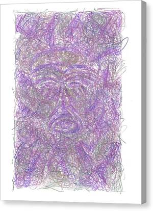 Tiki Canvas Print - Tiki Bob  by Wayne Monninger