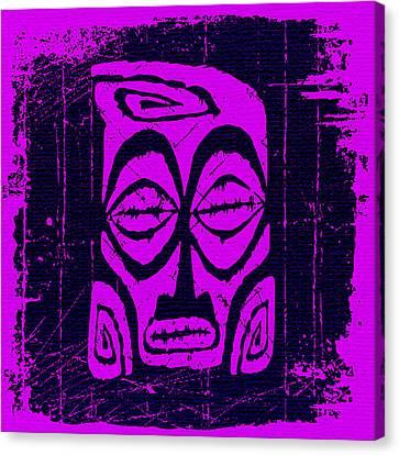 Booze Canvas Print - Tiki Taboo by Tiki Bender
