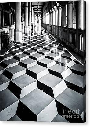 Tile Design Canvas Print