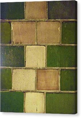 Geometric Canvas Print - Tiles No. 35-1 by Sandy Taylor