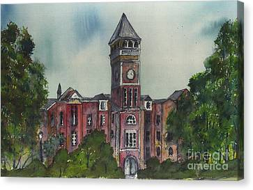 Tillman Hall One Clemson Canvas Print by Patrick Grills
