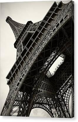 Tilted Eiffel Canvas Print by Stefan Nielsen