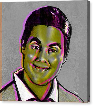 Tim Heidecker Canvas Print by Fay Helfer