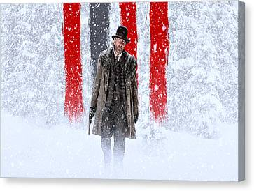 Tim Roth The Hateful Eight Canvas Print by Movie Poster Prints