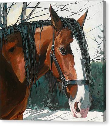 Canvas Print - Timber by Nadi Spencer