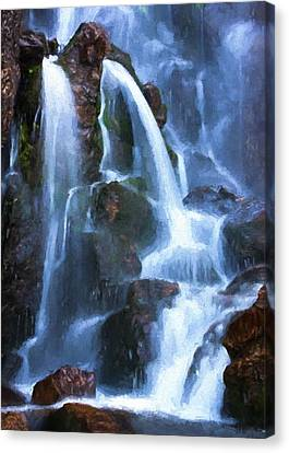 Timberline Falls Canvas Print