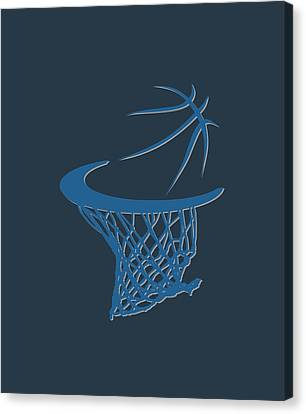 Timberwolves Basketball Hoop Canvas Print