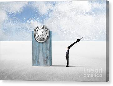 Time  Canvas Print by Aimelle ML