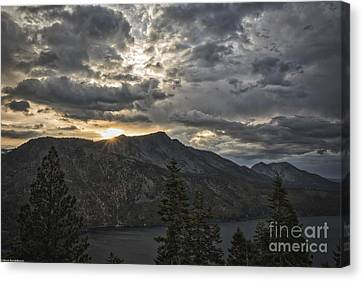 Time And Age Canvas Print by Mitch Shindelbower