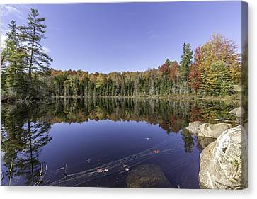 Time At The Lake Canvas Print by Everet Regal