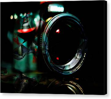 Time Capture Camera Collection Canvas Print by Marvin Blaine