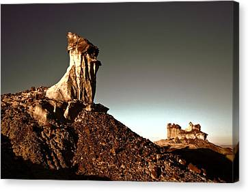 Rock Formations Canvas Print - Time Chips Away by Jim Buchanan