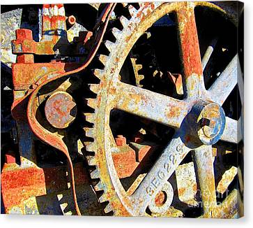 Time Compressor Canvas Print by Laura Star