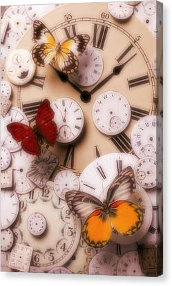 Time Flies Canvas Print by Garry Gay