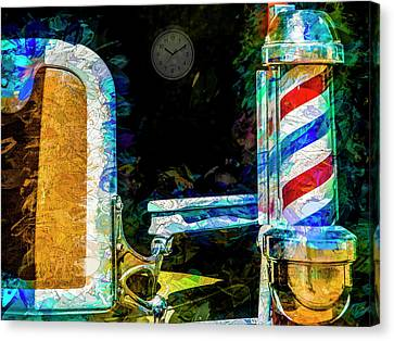 Canvas Print featuring the photograph Time For A Trim by Paul Wear