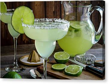 Canvas Print featuring the photograph Time For Margaritas by Teri Virbickis