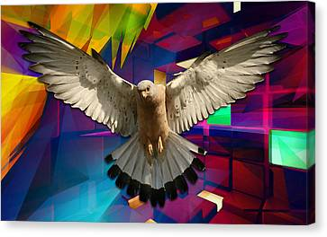 Time For Me To Fly Canvas Print