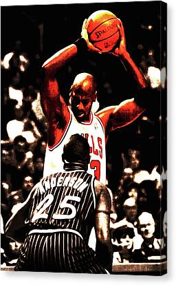 Ewing Canvas Print - Time For School by Brian Reaves