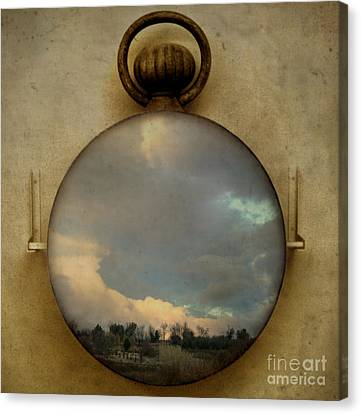 Time Free Canvas Print by Martine Roch