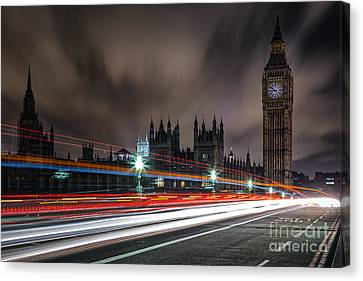 Time Canvas Print by Giuseppe Torre