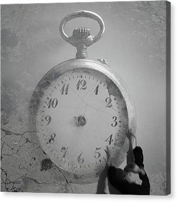 Time Is On My Side Canvas Print by Martina Rall