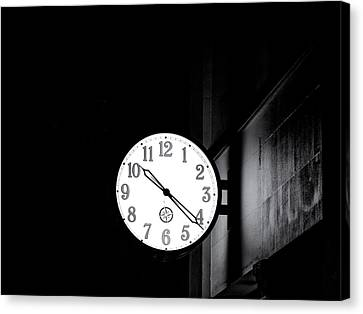 Time Is Slipping Away Canvas Print