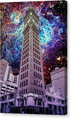 Time Is Ticking Canvas Print by Brian Wallace