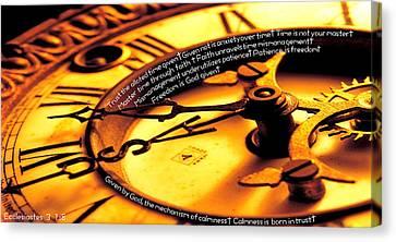 Time Management Canvas Print