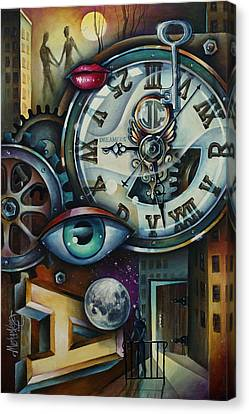 'time' Canvas Print by Michael Lang