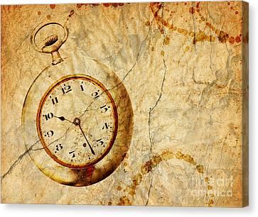 Time Canvas Print by Michal Boubin