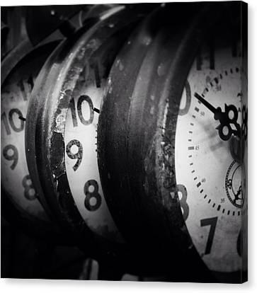 Time Multiplies Canvas Print