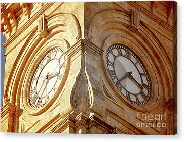 Canvas Print featuring the photograph Time On My Side by Stephen Mitchell