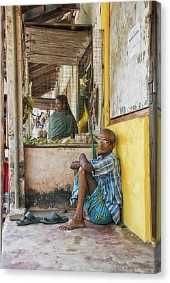 Canvas Print featuring the photograph Kumarakom by Marion Galt