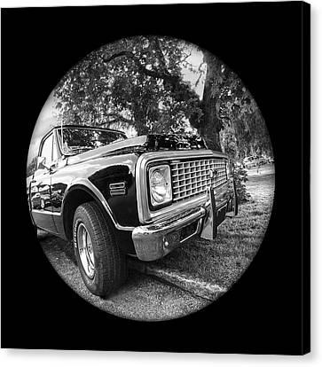 Time Portal - '71 Chevy Canvas Print by Gill Billington