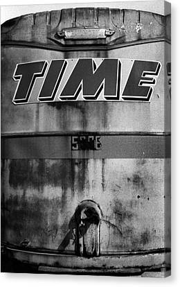 Canvas Print featuring the photograph Time by Robert Harshman