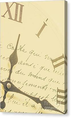 Time Signatures Canvas Print
