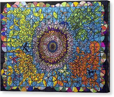 Time Symmetry  Canvas Print by William Douglas